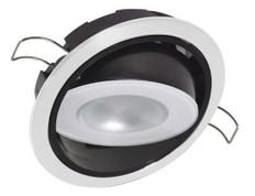 Lumitec Mirage Down Light Warm White White Finish - LUM115129