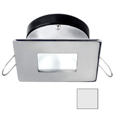 i2Systems Apeiron A1110Z - 4.5W Spring Mount Light - Square/Square - Cool White - Brushed Nickel Finish