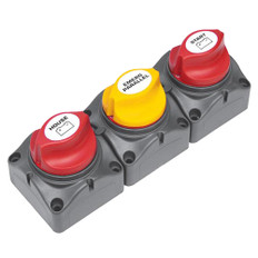 BEP Battery Distribution Cluster f/Single Engine w/Two Dedicated Battery Banks - Horizontal Mounting
