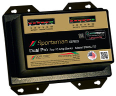 Dual Pro Ss2auto Battery Charger, Auto Profile 2 Bank 20 Amps