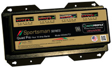 Dual Pro Ss4auto Battery Charger, Auto Profile 4 Bank 40 Amps