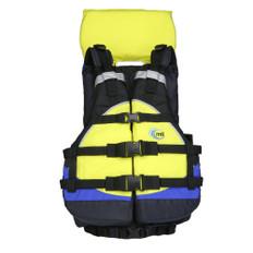 MTI Explorer V Rafting Life Jacket - Blue/Yellow