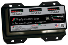 Dual Pro Ps3auto Battery Charger, Auto Profile 3 Bank 45 Amps