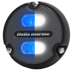 Hella Marine Apelo A1 Blue White Underwater Light - 1800 Lumens - Black Housing - Charcoal Lens