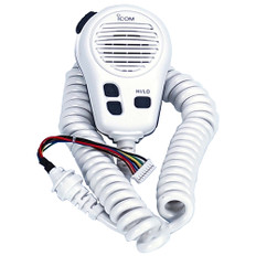 Icom Hm196sw White Microphone Replacement For M424