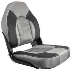 Springfield Skipper Premium HB Folding Seat - Charcoal/Grey