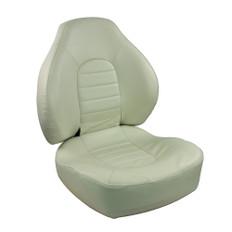 Springfield Fish Pro Mid Back Folding Seat - White