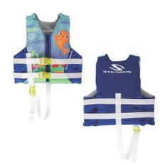 Puddle Jumper Child Hydroprene Life Vest - Blue Walrus - 30-50lbs