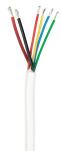 Ancor 18/4 And 16/2 25' Rgb+speaker Wire