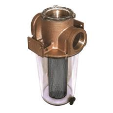 """GROCO ARG-1250 Series 1-1/4"""" Raw Water Strainer w/Monel Basket"""