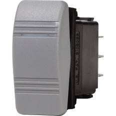 Blue Sea 8233 Water Resistant Contura III Switch - Gray