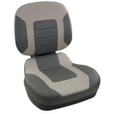 Springfield Fish Pro II Low Back Folding Seat - Charcoal/Grey