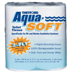 Thetford Aqua-Soft Toilet Tissue *4-Pack