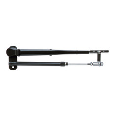 """Marinco Wiper Arm, Deluxe Black Stainless Steel Pantographic - 12""""-17"""" Adjustable"""