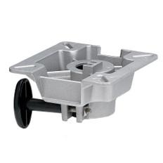 "Attwood SWIVL-EZE LakeSport 2-3/8"" Seat Mount w/Friction Control - Aluminum"