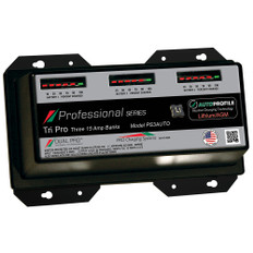 Dual Pro PS3 Auto 15A - 3-Bank Lithium/AGM Battery Charger
