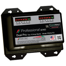 Dual Pro PS2 Auto 15A - 2-Bank Lithium/AGM Battery Charger