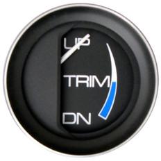 """Faria Coral 2"""" Trim Gauge f/Mercury/Mariner/Mercruiser/Volvo DP/Yamaha ('01 & Newer)"""