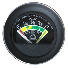 """Faria Coral 2"""" Battery Condition Indicator Gauge"""