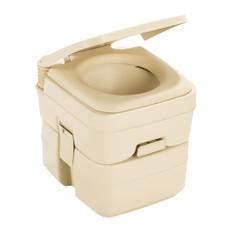 Dometic 966 Portable Toilet - 5 Gallon - Parchment