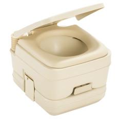 Dometic 962 Portable Toilet - 2.5 Gallon - Parchment