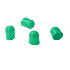 VDO Light Diffuser f/Type C & E Wedge Bulb - Green - 4 Pack