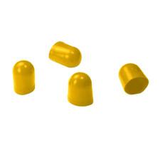 VDO Light Diffuser f/Type C & E Wedge Bulb - Amber - 4 Pack