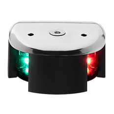 Aqua Signal Series 28 Bi-Color LED Deck Mount Light - Stainless Steel Housing