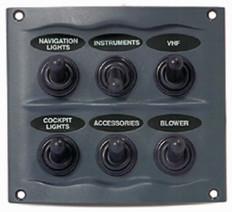 BEP 900-6WP 6 Way Switch Panel