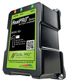 Dual Pro RS1 Battery Charger 1 Bank 6 Amps