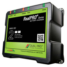Dual Pro RS2 Battery Charger 2 Bank 12 Amps