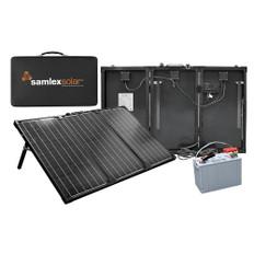 Samlex Portable Solar Charging Kit - 135W