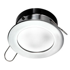 i2Systems Apeiron Pro A503 Recessed LED - Tri-Color - Cool White/Red/Blue - 3W Dimming - Round Bezel - Chrome Finish