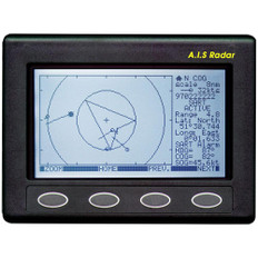 Clipper AIS Plotter/Radar - Requires GPS Input  VHF Antenna