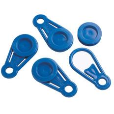 Dock Edge Instant Grommet Tarp Holder - Blue - 4-Pack