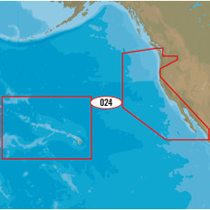 C-MAP MAX-N+ NA-Y024 - USA, West Coast & HI