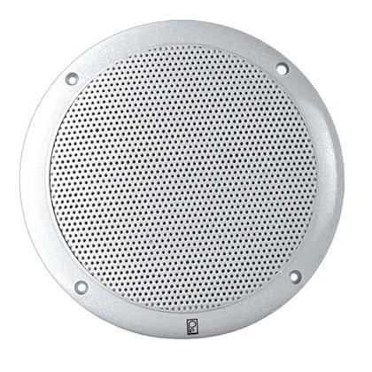Poly-Planar 4 2-Way Coax Integral Grill Marine Speaker - (Pair) White
