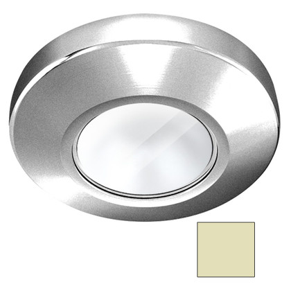 i2Systems Profile P1101 2.5W Surface Mount Light - Warm White - Brushed Nickel Finish