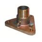 """GROCO 3/4"""" Bronze NPS to NPT Flange Adapter"""