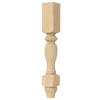 """35-1/4"""" Country French (Double Square) Post Leg"""
