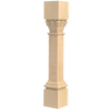 "35-1/4"" Ionic Acanthus Kitchen Island Post Leg"
