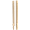 "36-1/2"" Queen Anne French Fluted - Corner Post"