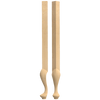 "29"" Queen Anne High Boy - Corner Post"