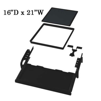 "Downview Flat Panel Display Kit - 16""D x 21""W Viewport"
