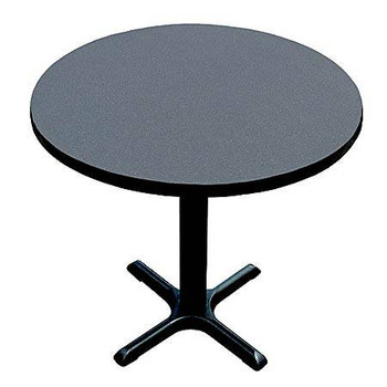Round X-Base Table