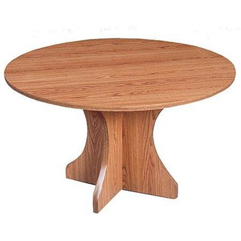 Round Hourglass Shaped Table