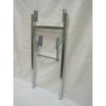 Square H Folding Legs