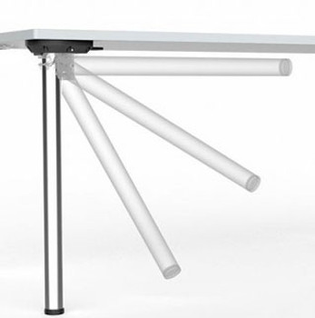 "29"" Tall, Heavy Duty, Single Folding Table Leg"