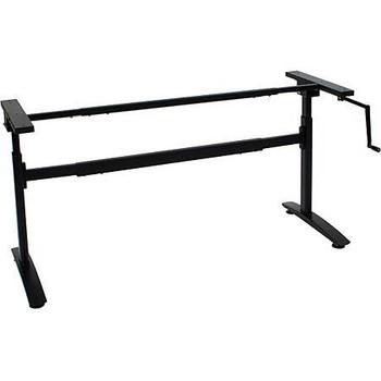 Hand Crank Height Adjustable Table Base