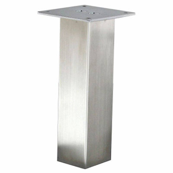 "2"" Square Stainless Steel Furniture Leg"